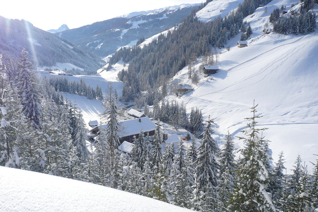 Villgratental im Winter