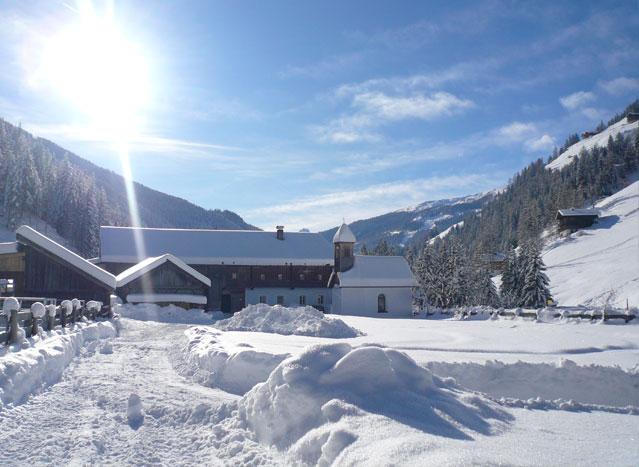 Wurzerhof im Winter
