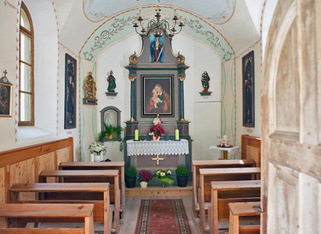 Das Kapelleninnere
