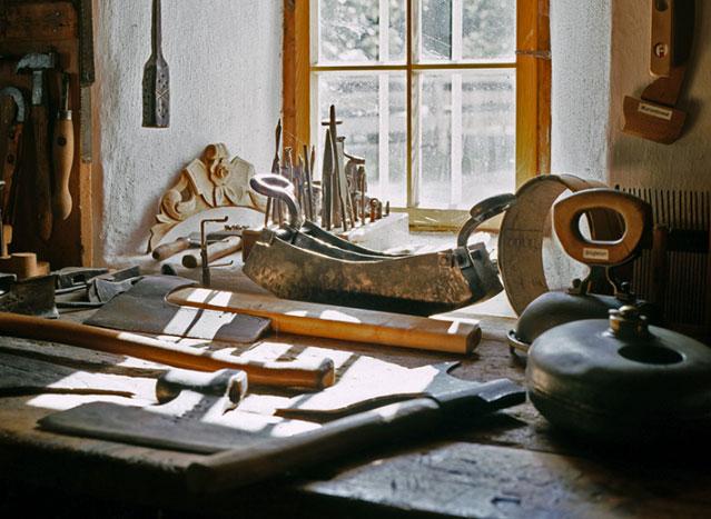 Werkzeug aus der Machlkammer