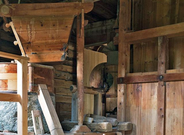 Mühle Ausschnitt