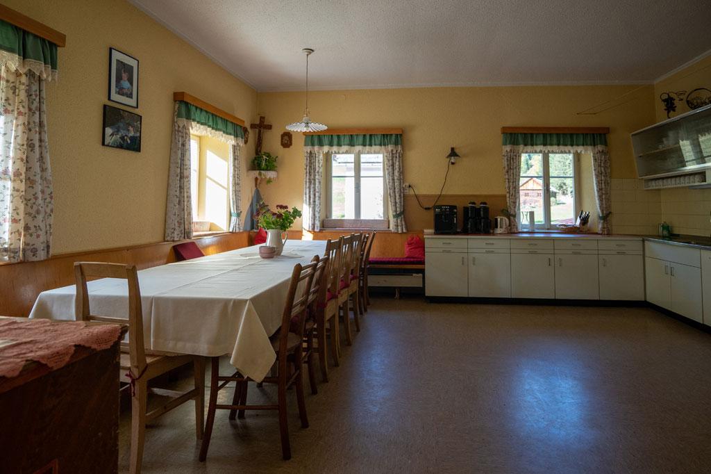 Wurzerhof Küche